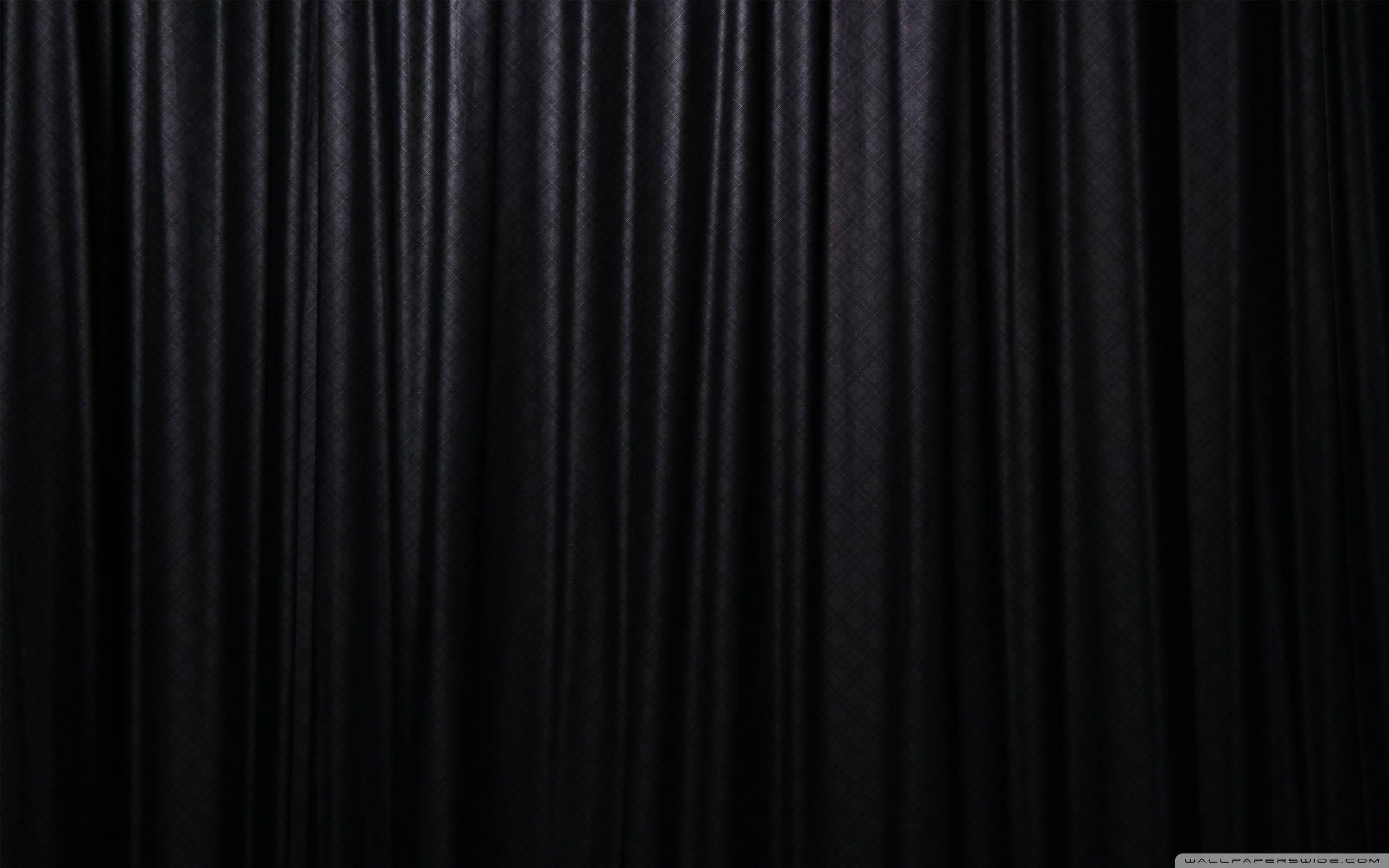 Black Curtain Black Curtains Black Wallpaper Black Hd Wallpaper
