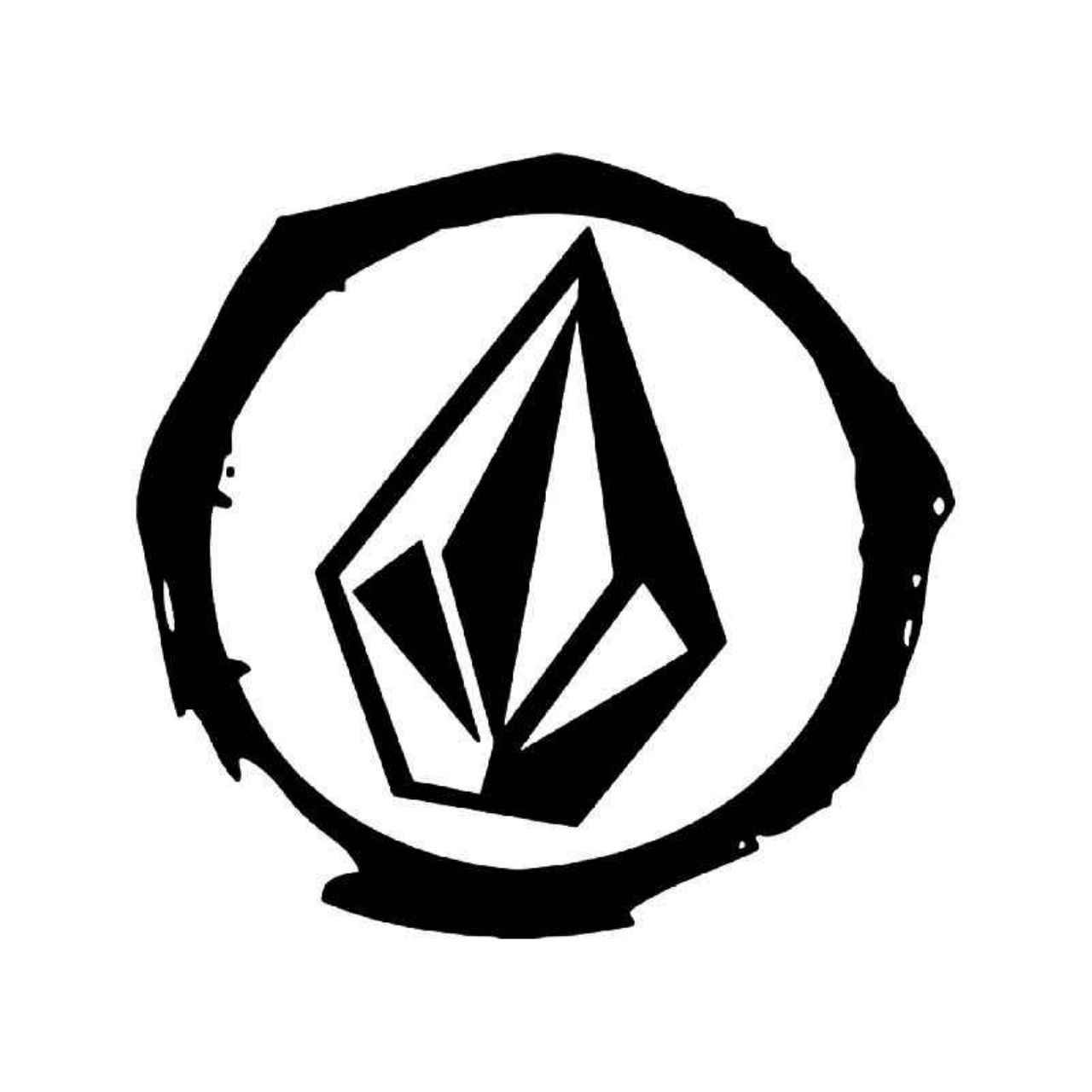 Volcom diamond logo 4 vinyl decal sticker diamond logo volcom diamond logo 4 vinyl decal sticker biocorpaavc
