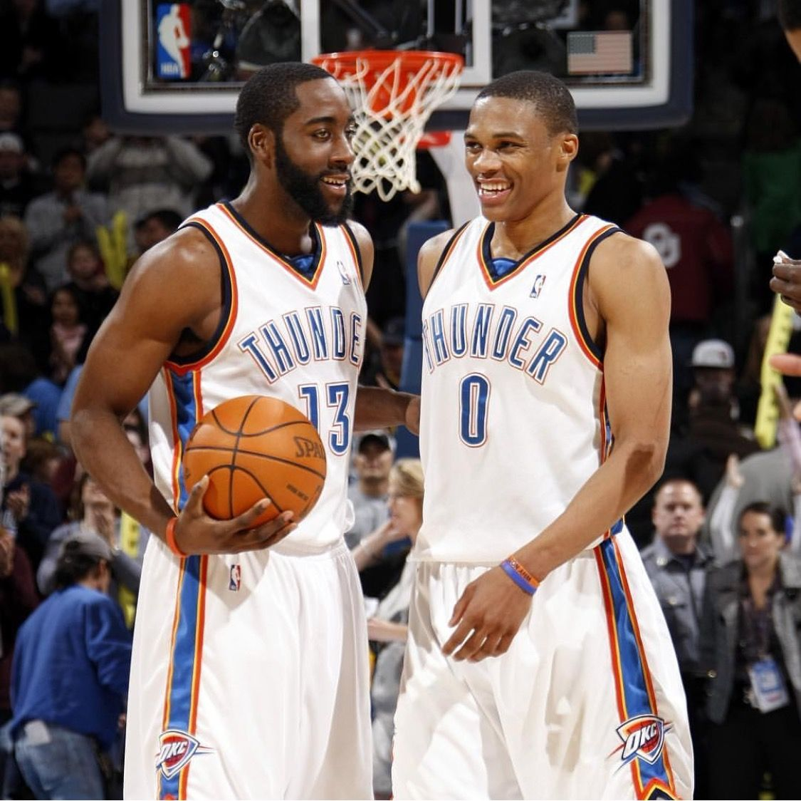 James Harden In Okc: Little Throwback With James Harden And Russell Westbrook