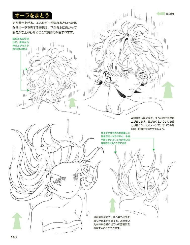 Photo of Anime Girl Hair Floating