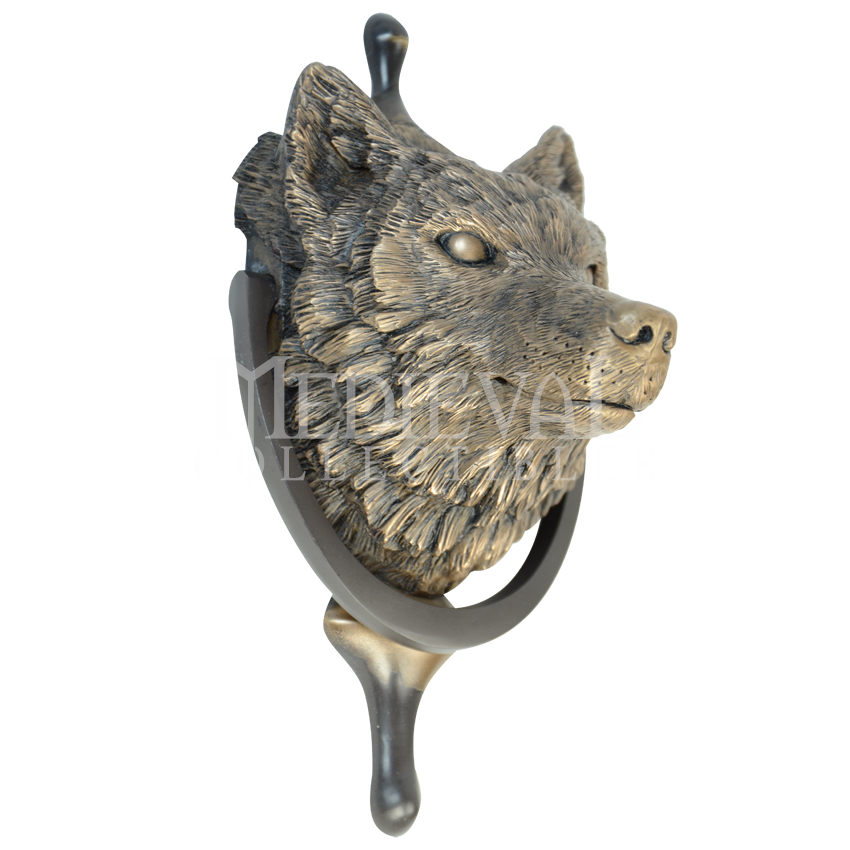 Wolf Door Wolf Door Knocker