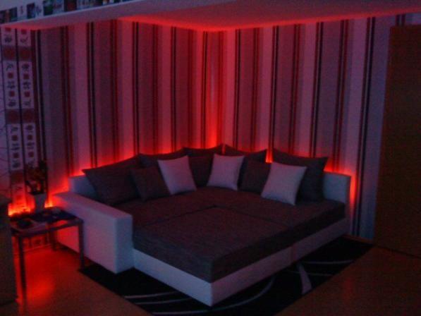 Cute Wechselnde LED Beleuchtung Sofa