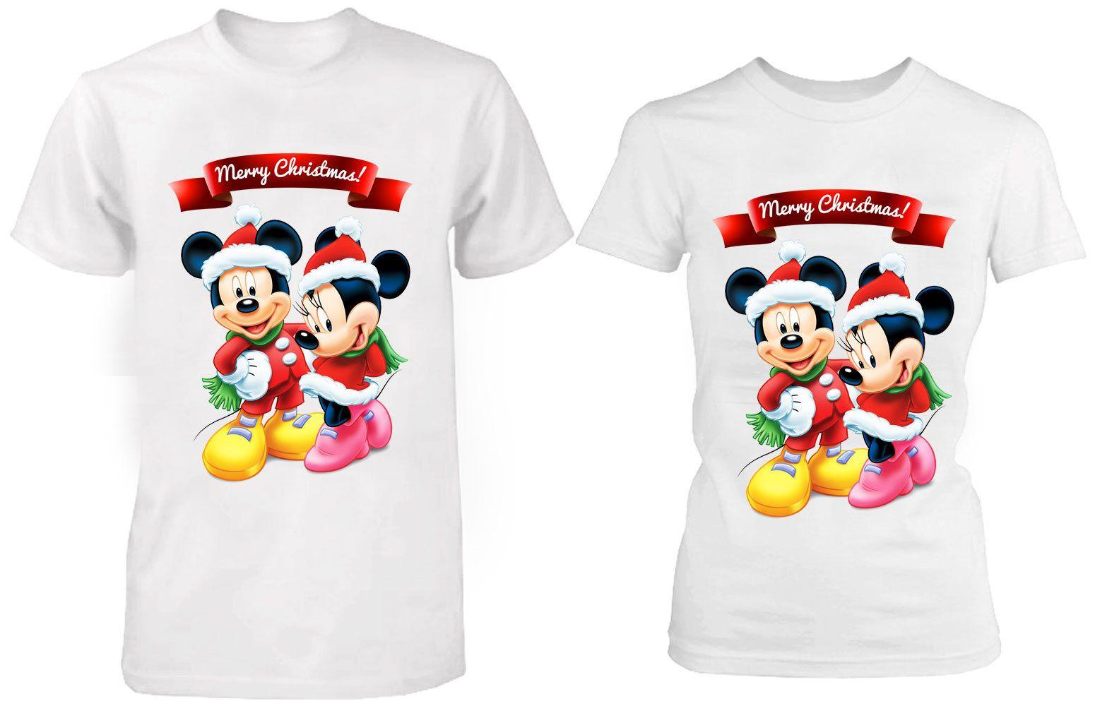 Christmas Disney T Shirts Xmas t shirts Merry Christmas