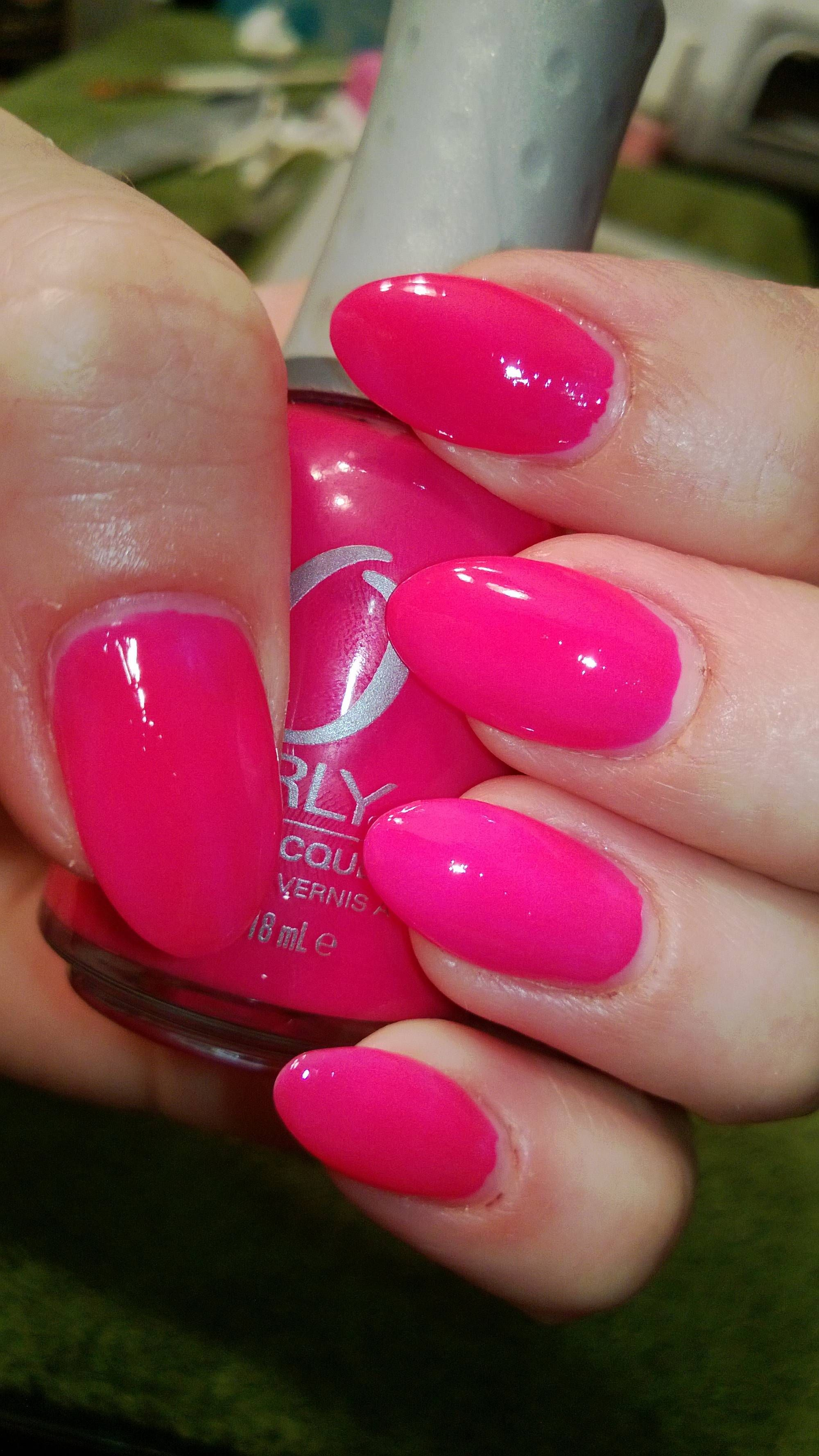 Image result for Orly Passion Fruit: neon pink nail polish | Next ...