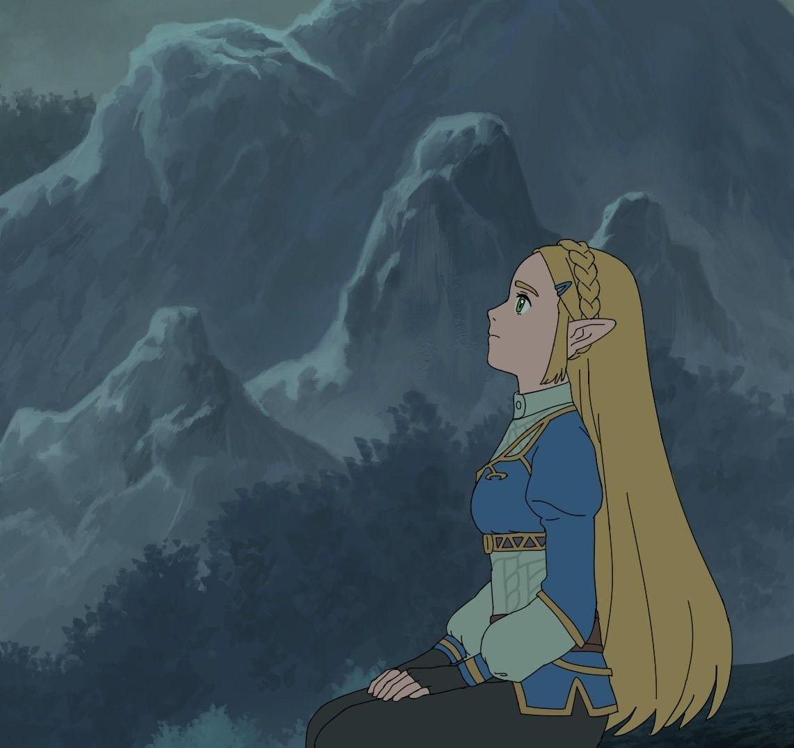 Legend Of Zelda Breath Of The Wild Art Princess Zelda Botw Mivic Zel Legend Of Zelda Breath Legend Of Zelda Zelda Art