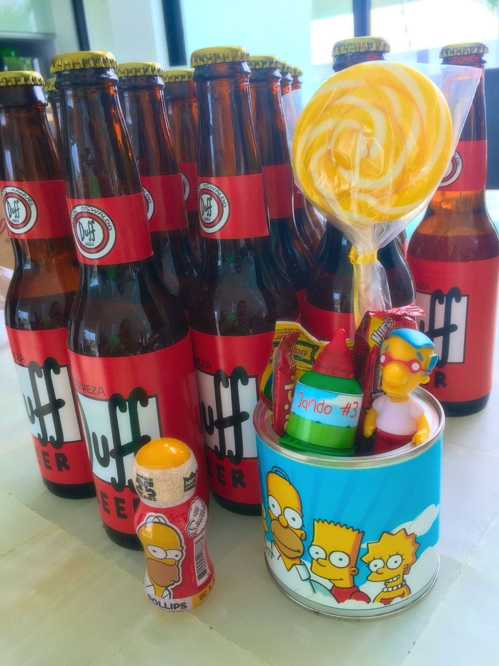 The Simpsons Simpsons Party Kids Birthday Party Birthday Theme