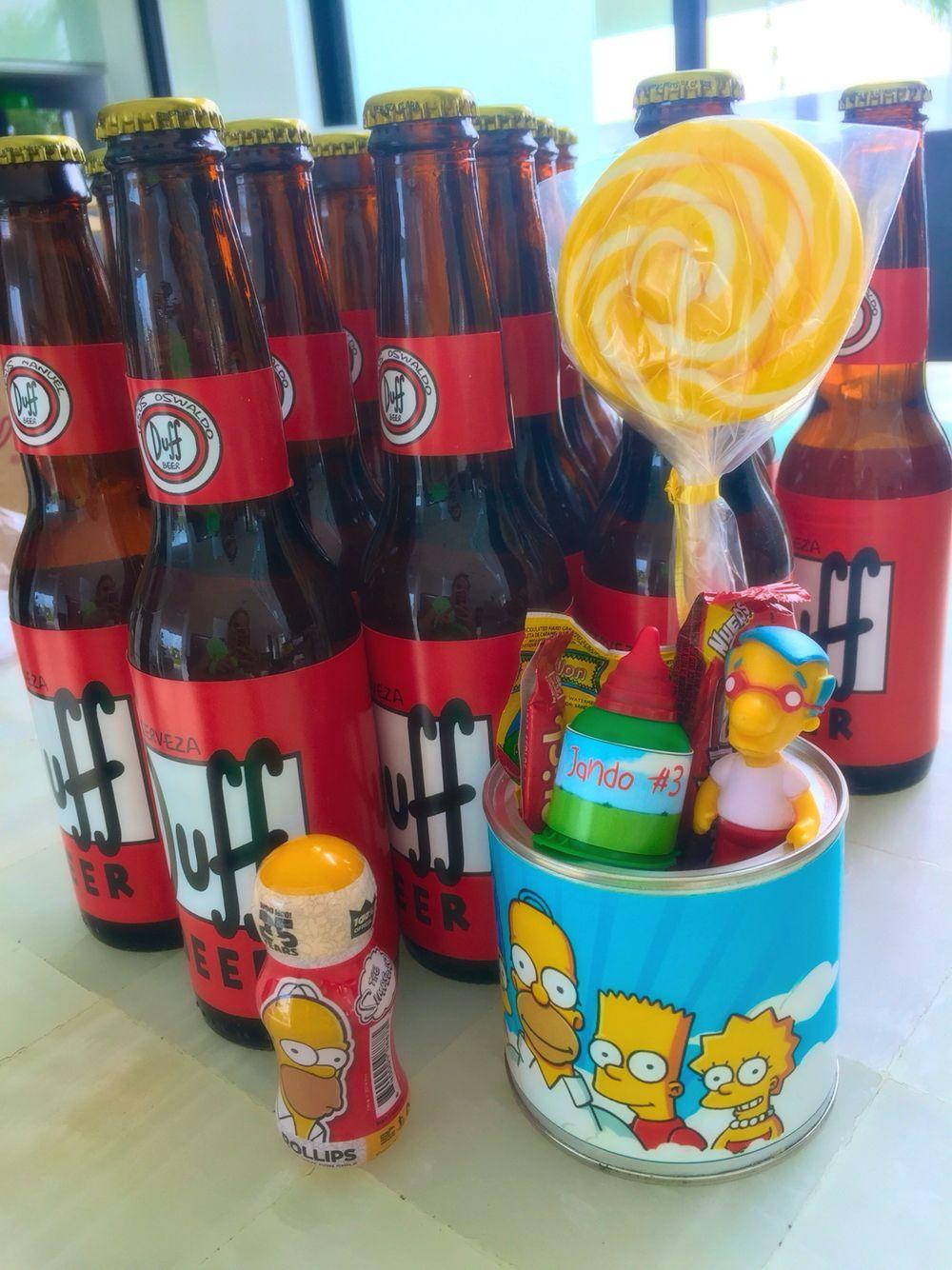 The simpsons  Simpson Party  Pinterest  Cumpleaos