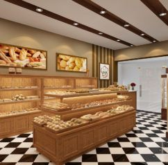 Perfect Knockout Bakery Interior Design Ideas : Bakery Interior Design X  Thehomestyleco Small Bakery Interior Design Ideas
