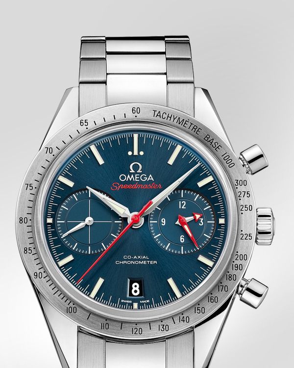 87376c54278 OMEGA Watches  Speedmaster Speedmaster  57 Omega Co-Axial Chronograph 41.5  mm - Steel on steel - 331.10.42.51.03.001