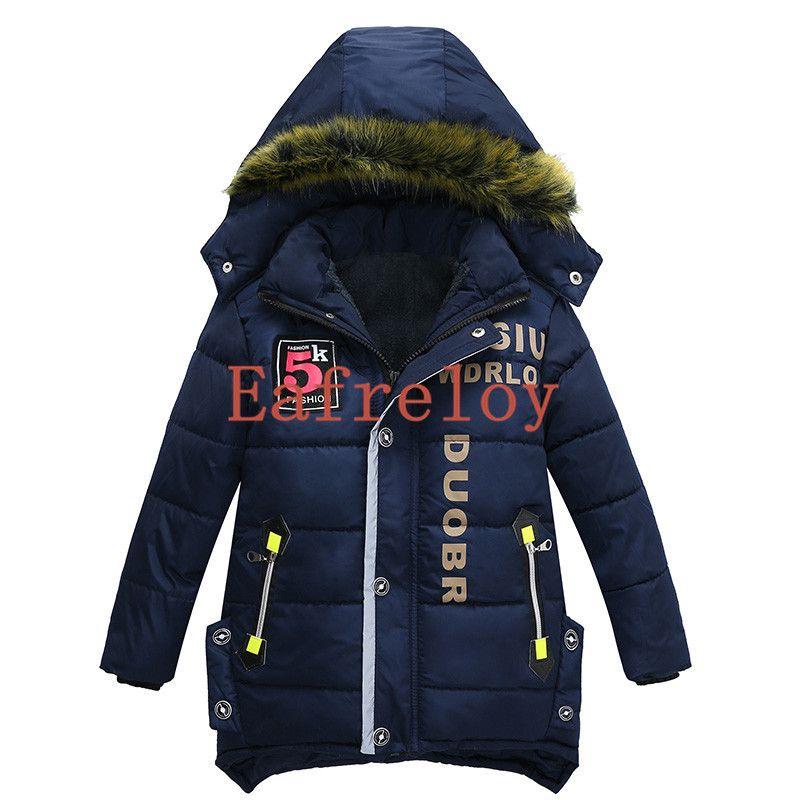 8fea79e13 Baby Boys Jacket Boys Clothes Winter Jacket For Boys Coats Kids Warm ...