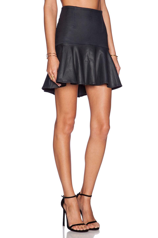 da1eab7a56db David Lerner Jordan Skirt in Petrol | REVOLVE | Clothes I want ...