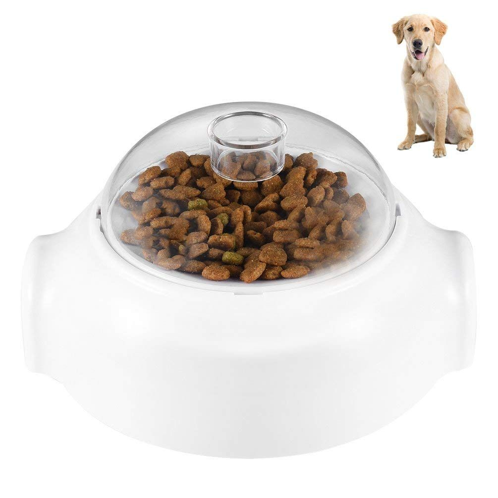 Petacc Dog Food Dispenser Toy Automatic Dog Treat Launcher Pet Food Leakage Toy Nice Of You To Have Dropped By Dog Food Recipes Food Animals Food Dispensers