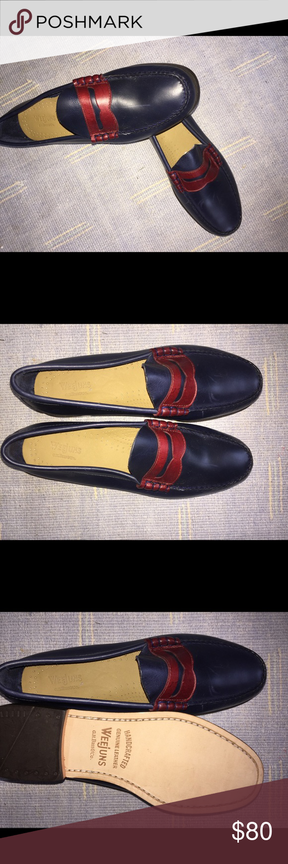 da6d0efbe0a GH Bass TWO TONE WEEJUNS 9.5 THE ORIGINAL 1936 LOGAN WEEJUNS GETS AN UPDATE  IN TWO