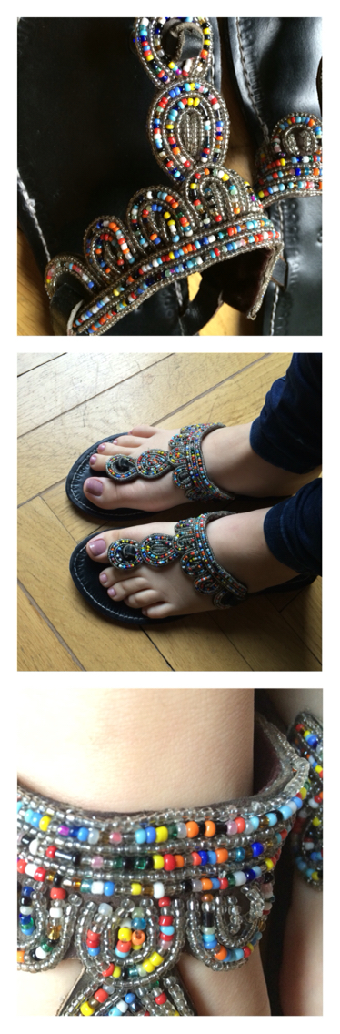 African Style shoes