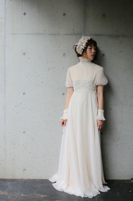 2348b155a5bbb ヴィンテージドレス ヴィンテージウェディングドレス アンティークドレスのレンタルショップTOI ET MOI。 1930~1970 年代頃の  特に見つけることが難しい珍しい物 ...