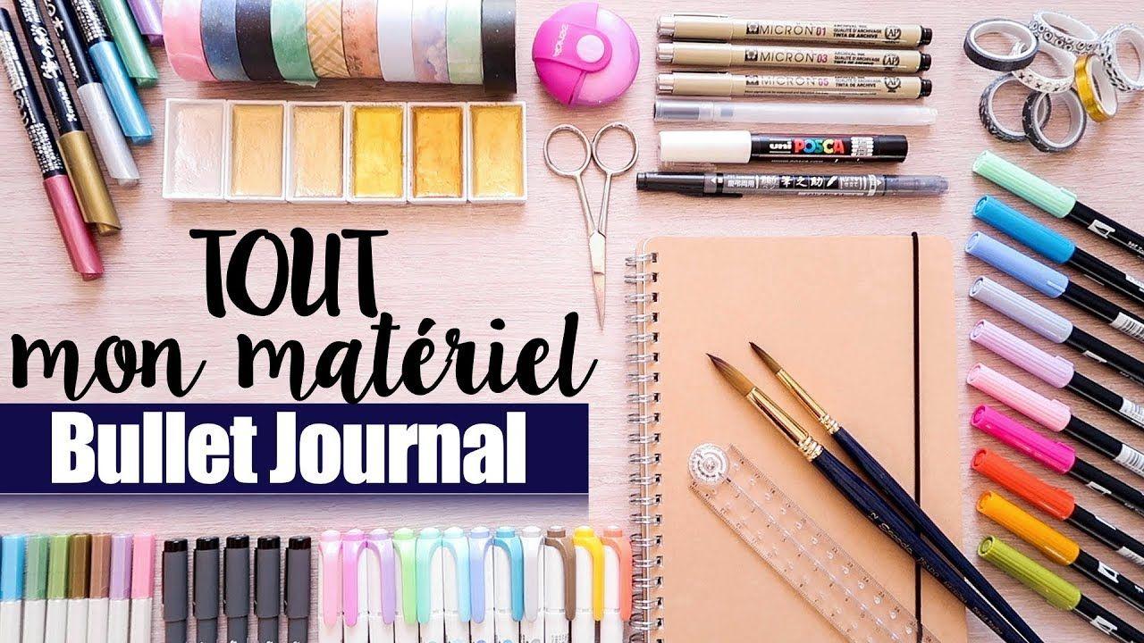 Tout Mon Mata C Riel Bullet Journal Swatches Calligraphie