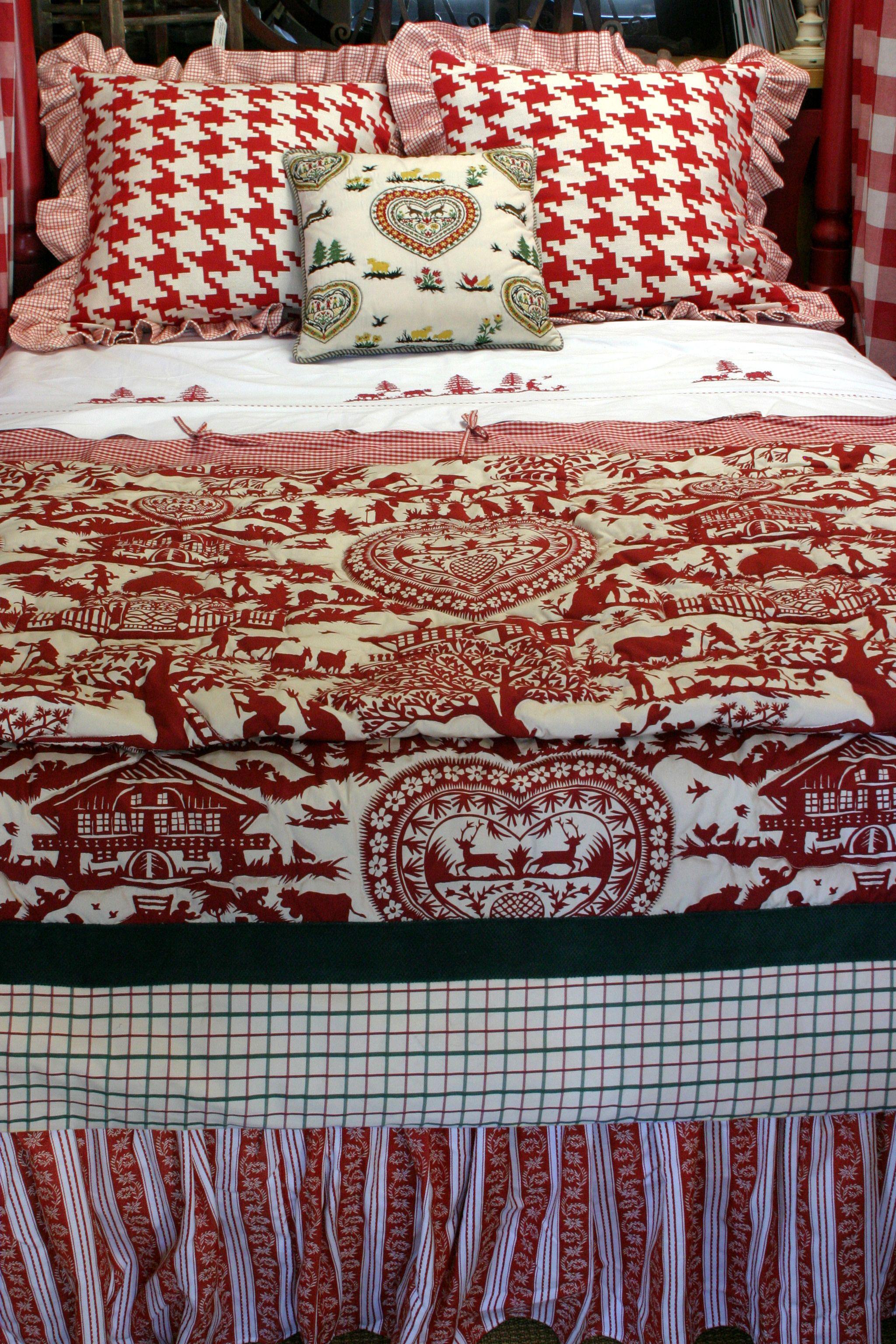 love the pierre frey duvet fabric fabric pinterest deco montagne chalet et ambiance. Black Bedroom Furniture Sets. Home Design Ideas