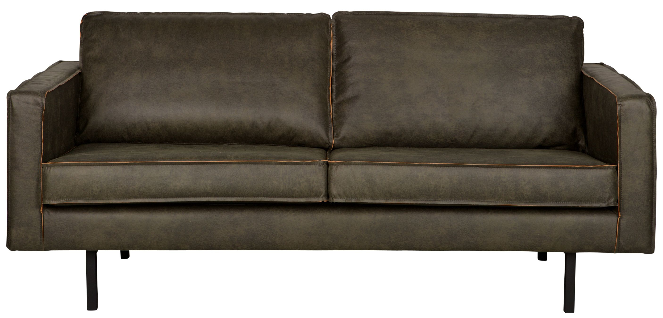 Rode Leren Chesterfield Bank.Tv Hoek Bepurehome Rodeo Bank 2 5 Zits B190 Cm Leer Army