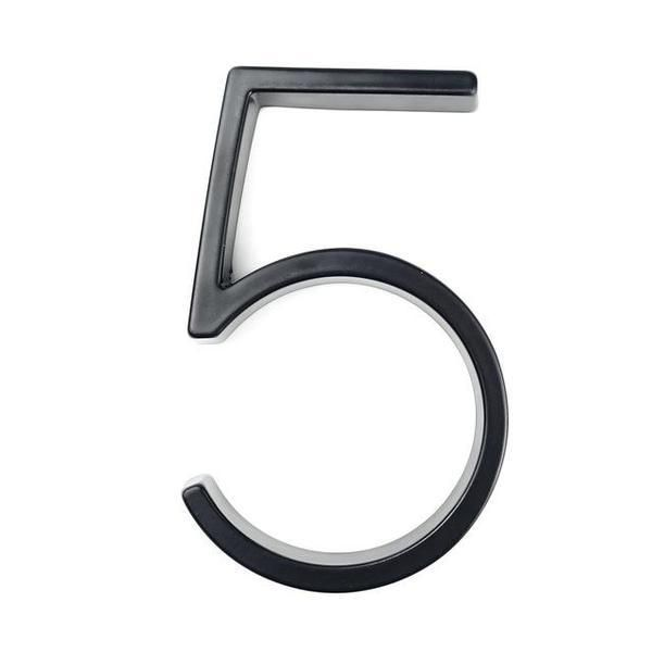 Modern House Numbers – 5
