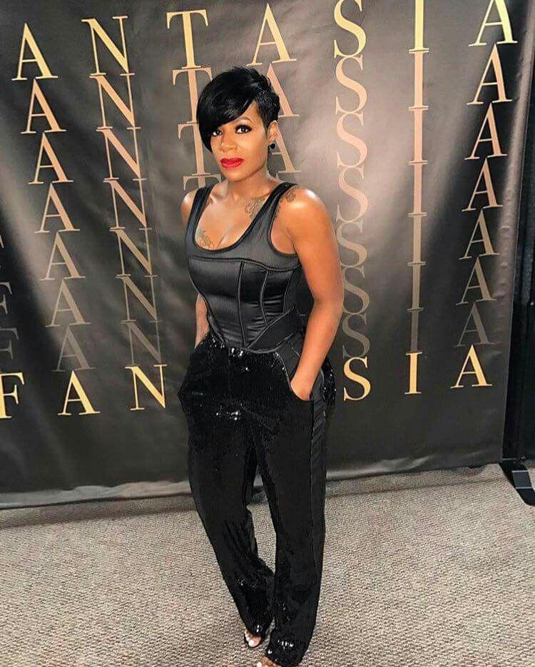 Fantasia Barrino Fantasia Hairstyles Short Black Hairstyles Short Hair Styles