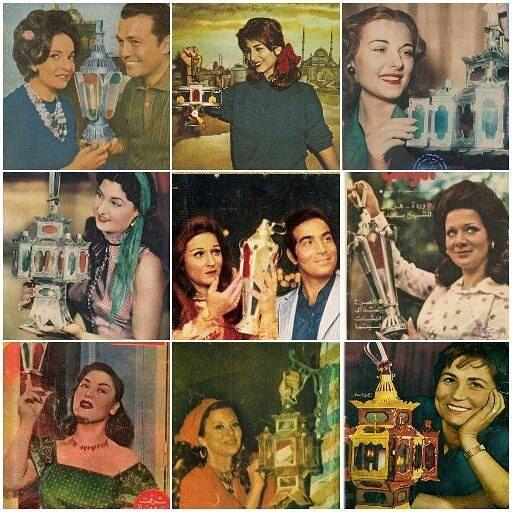 فنانين زمان مع فوانيس رمضان Ramadan Egypt Nostalgia