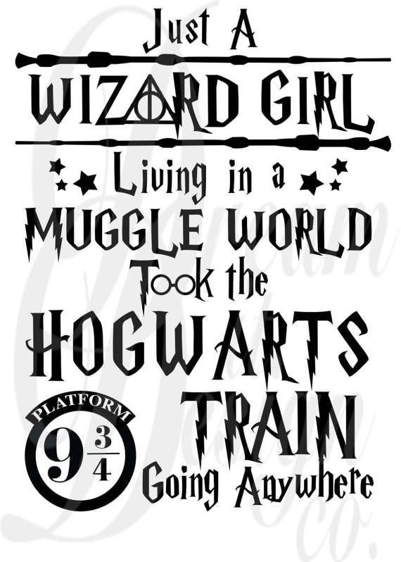 Image result for just a wizard girl living in a muggle
