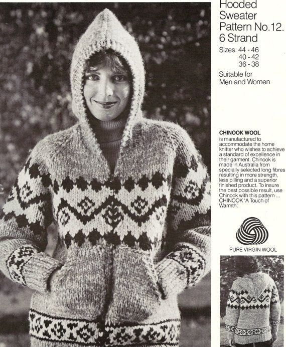 Chinook 12 Native Canadian Sweater Knitting By Cowichanvalley 2 49