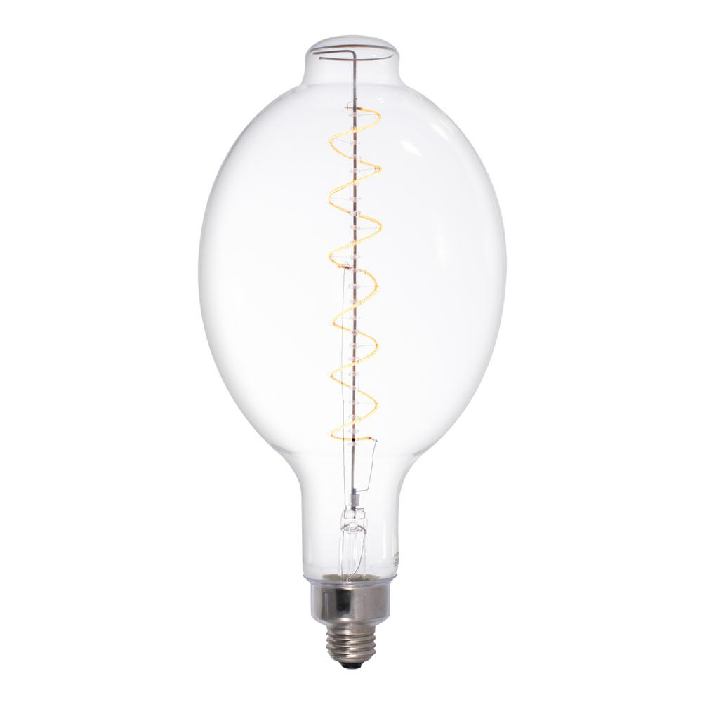 Bulbrite 40w Equivalent Amber Light Bt56 Dimmable Led Grand