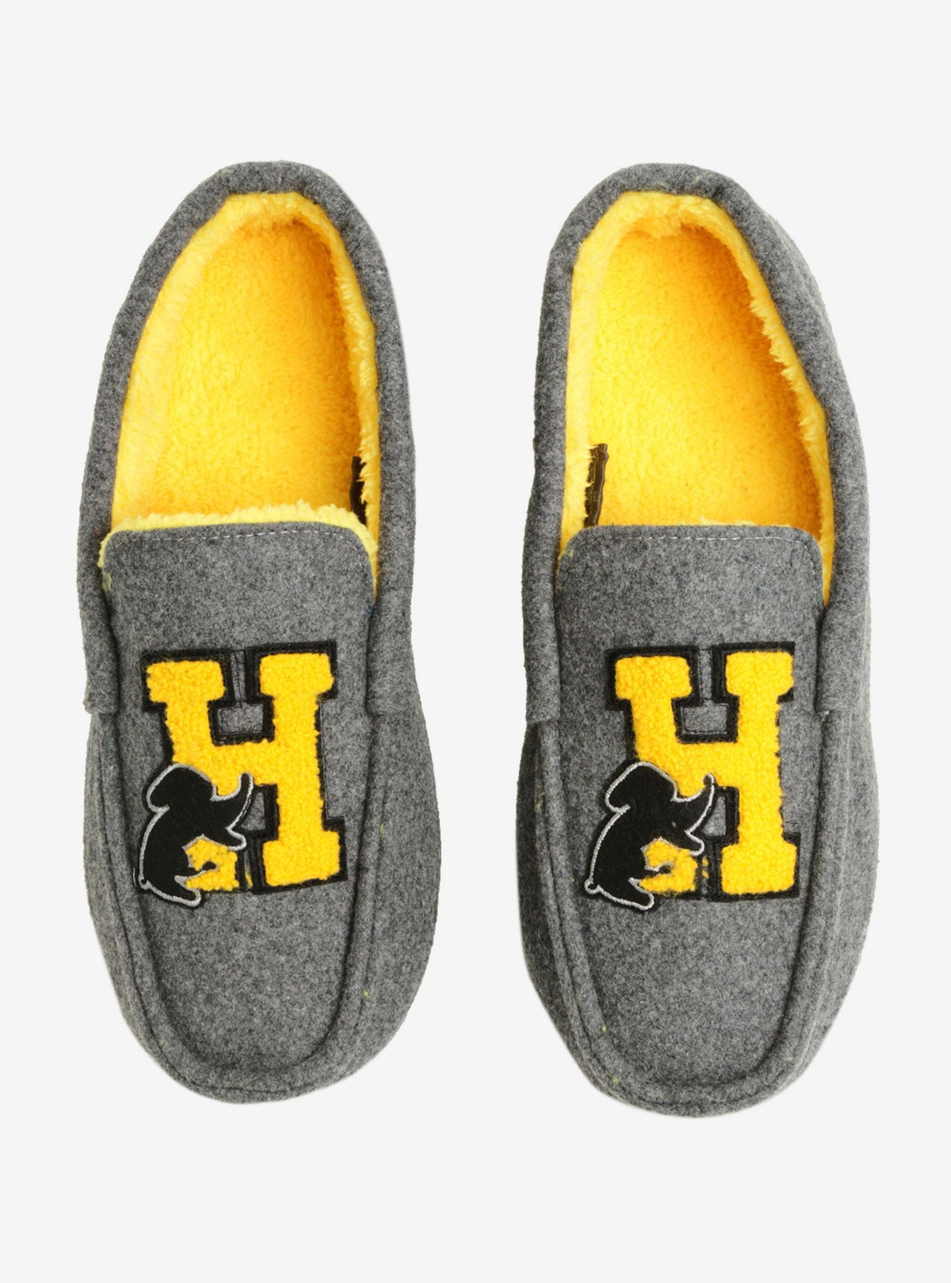 ffb1cfb3470b8 Harry Potter Hufflepuff Moccasin Slippers in 2019 | Wish List ...