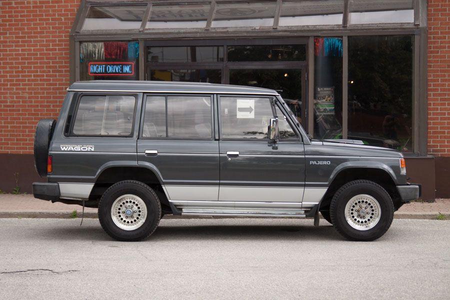 1990 Mitsubishi Pajero for Sale RightDrive Est 2007