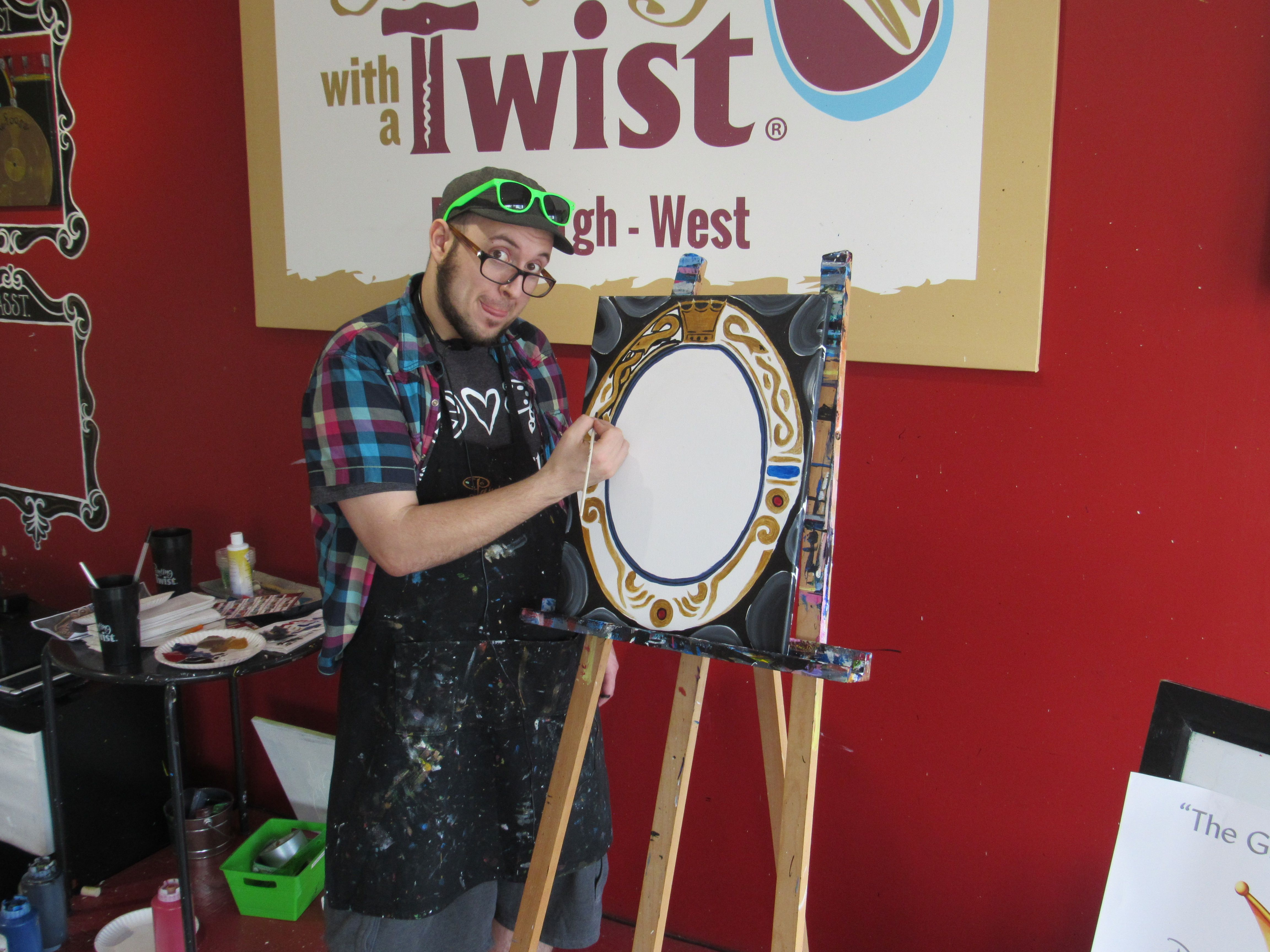 This Is How We Paint Her Majesty S Mirror Pittsburgh West Pa