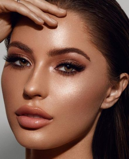 28+ Ideas Makeup Glitter Glam Brown Eyes For 2019
