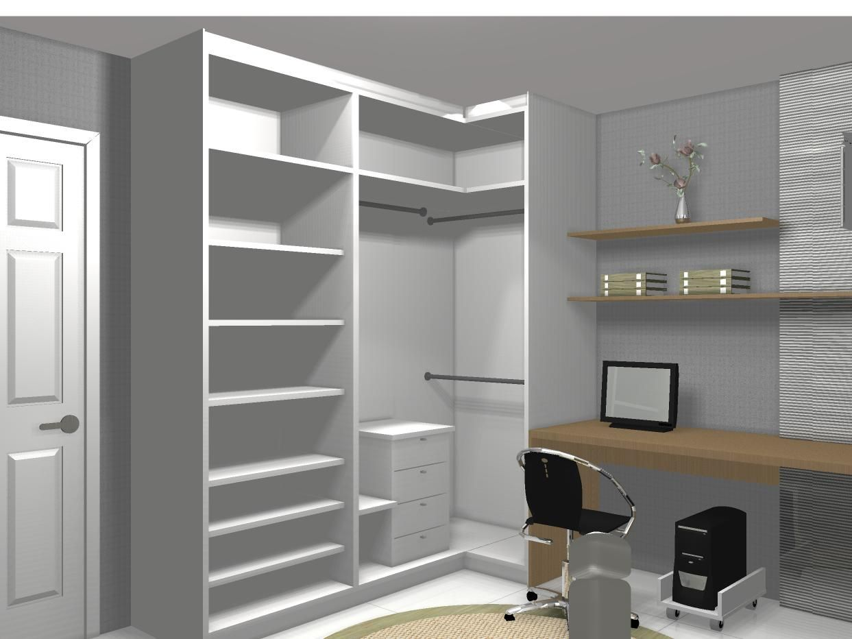 Officebedroom placard pinterest bedrooms room and closet designs