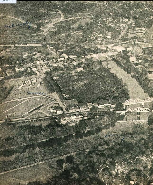 Downtown Rome Georgia Circa 1938 Barron Stadium Area Today The