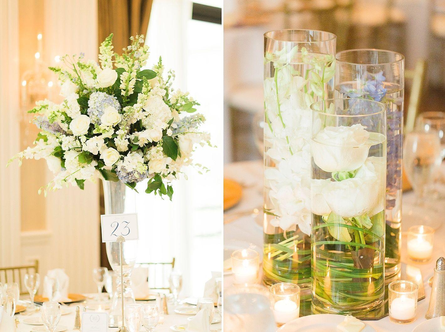 houston wedding, wedding centerpieces, tall wedding centerpiece ...