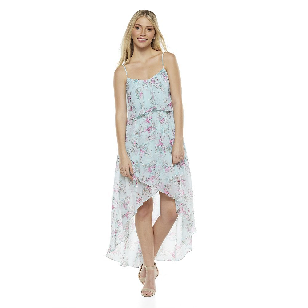 7750c0816 Cinderella at Kohl's | What to Wear | Floral high low dress, Junior ...