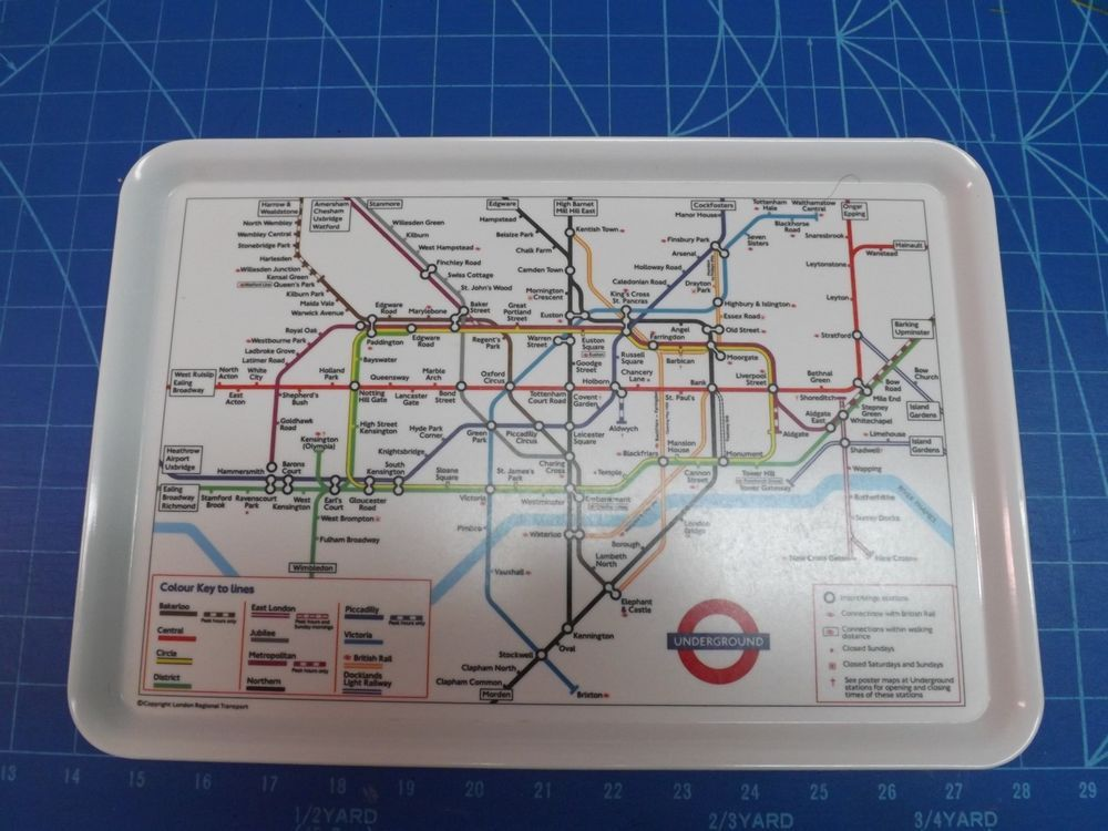 And the tube map as it