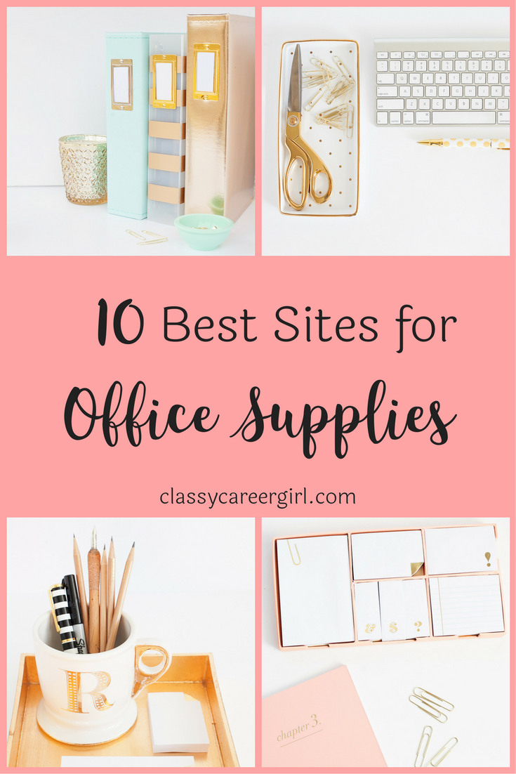 The 10 Best Sites For Office Supplies Office Desk Decor Work Office Decor Home Office Design