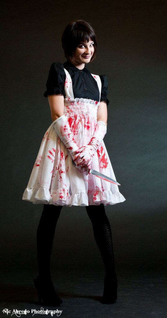Plus size Psycho Lolita Jumper Zombie Adult Halloween costume -Custom & Hey I found this really awesome Etsy listing at https://www.etsy ...