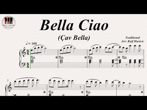 Bella ciao av bella piano youtube partiture for Piani casa africani gratis
