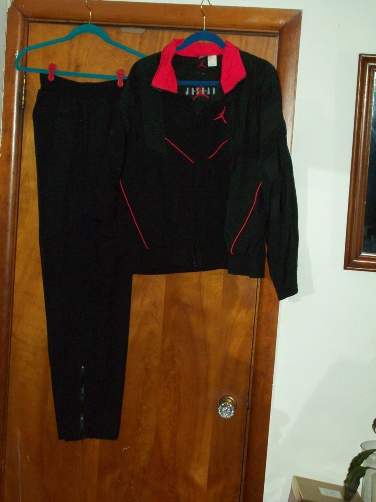 on sale e6fba 517bd VINTAGE VTG OG 1991 mens Nike Air Jordan bred Infared Flight Suit Warm Up  Medium fashion clothing shoes accessories vintage mensvintageclothing  (ebay ...