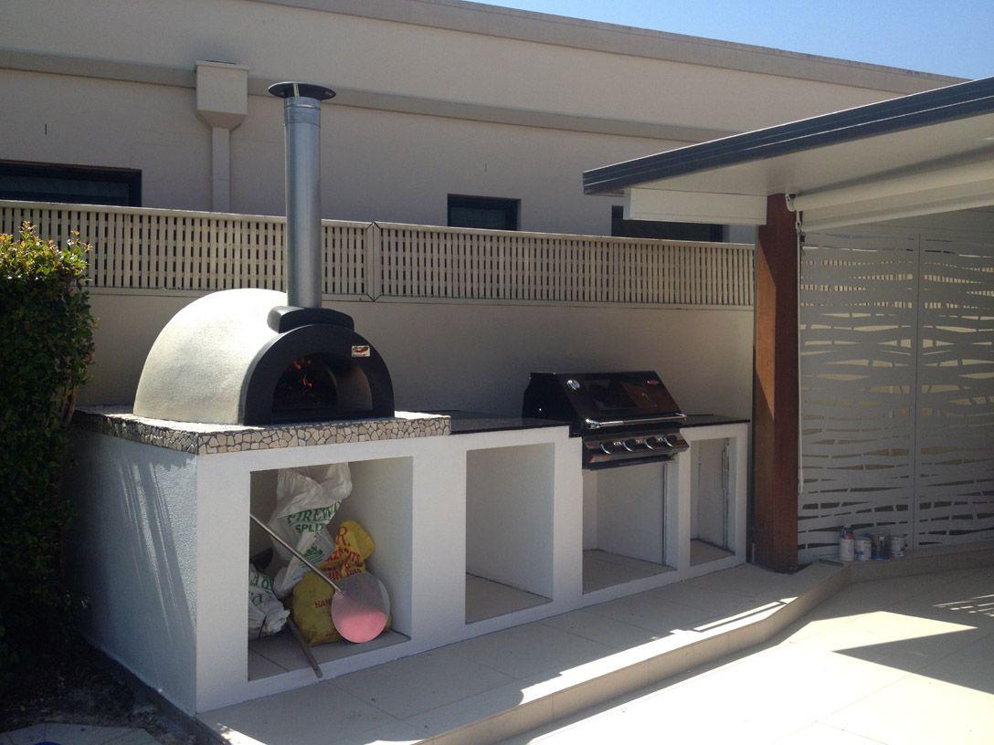 Alfresco Kitchens Woodfired Pizza Ovens Qld Woodfired Pizza Oven Pizza Oven Outdoor Kitchen Pizza Oven