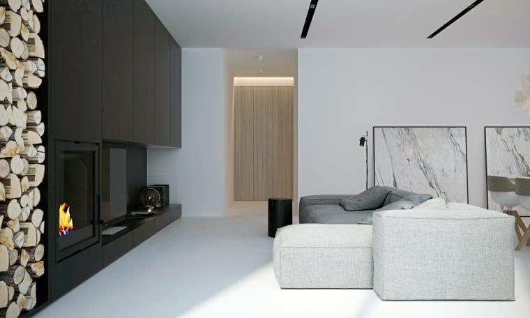 #Interior Design Haus 2018 Weiße Farbgestaltung Von Funktionalen  Minimalistischen Umgebungen #Ideen #Modell #