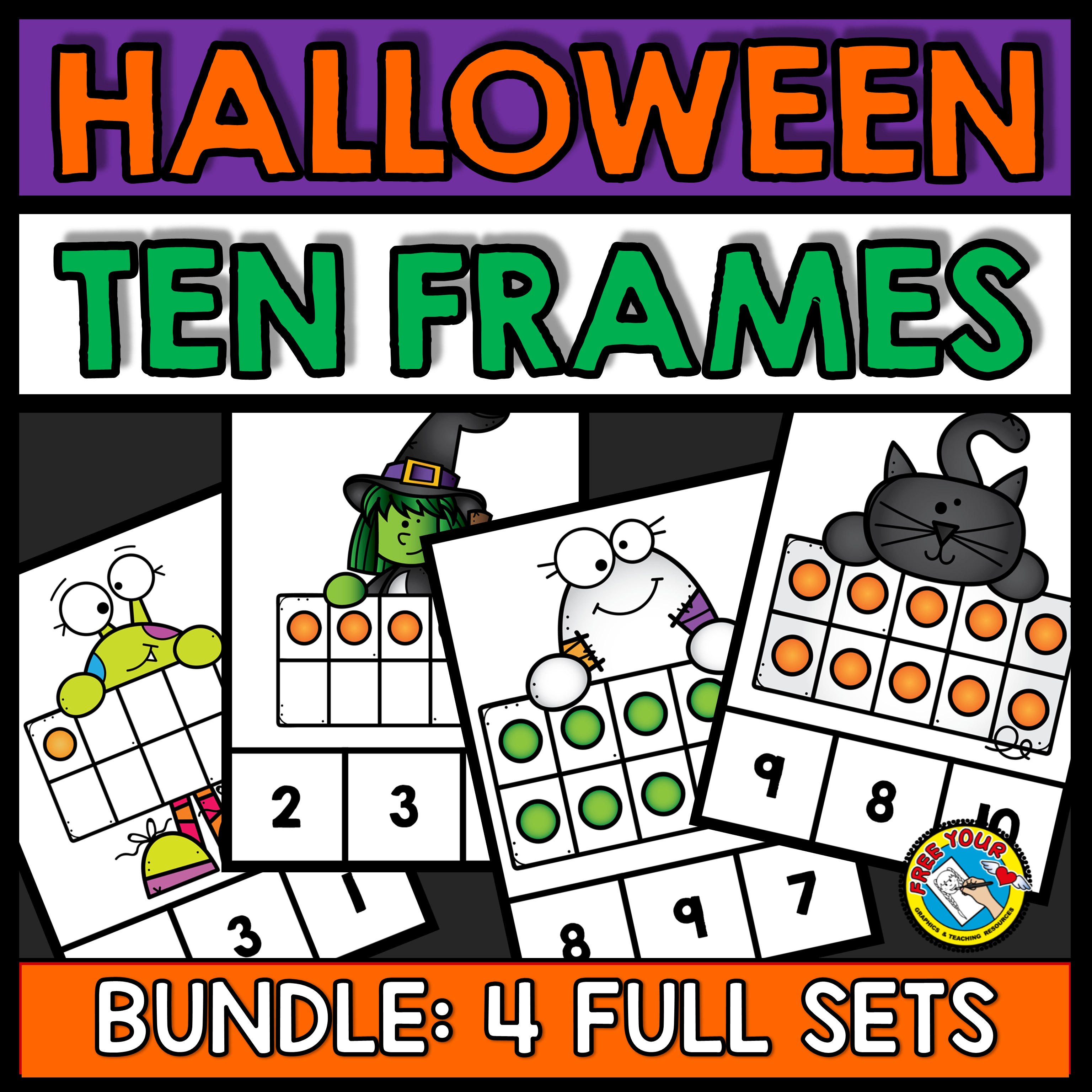 Halloween Activities Preschool October Math Centers