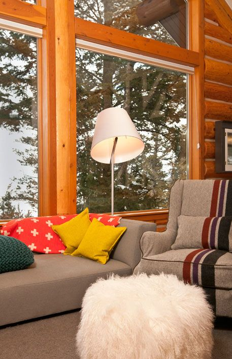 Jackson Hole Modern Log Cabin By Grace Home Design On Http