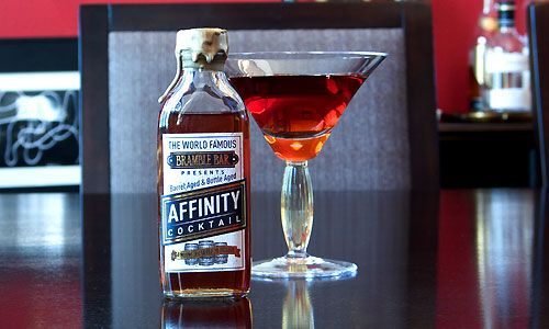 The Affinity A Ready To Drink Barrel Aged Cocktail Bottling