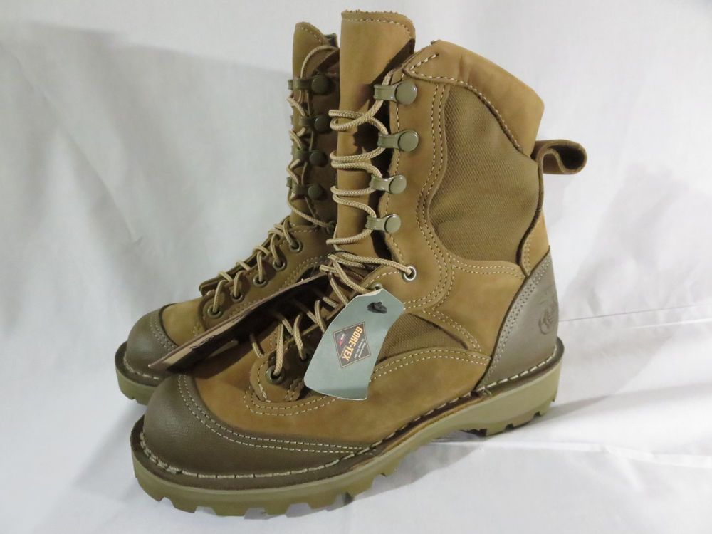 73dadd276dbf6 NEW Danner USMC MCWB Speed Lacer Boots 5 Regular Unissued 15655X GoreTex No  Box  Danner  Military