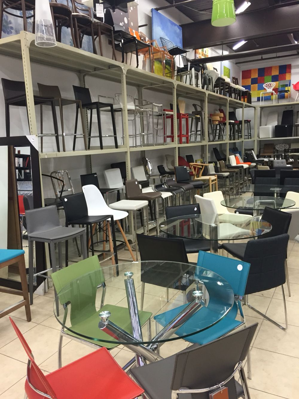 modern and contemporary bar stool and chairs furniture toronto