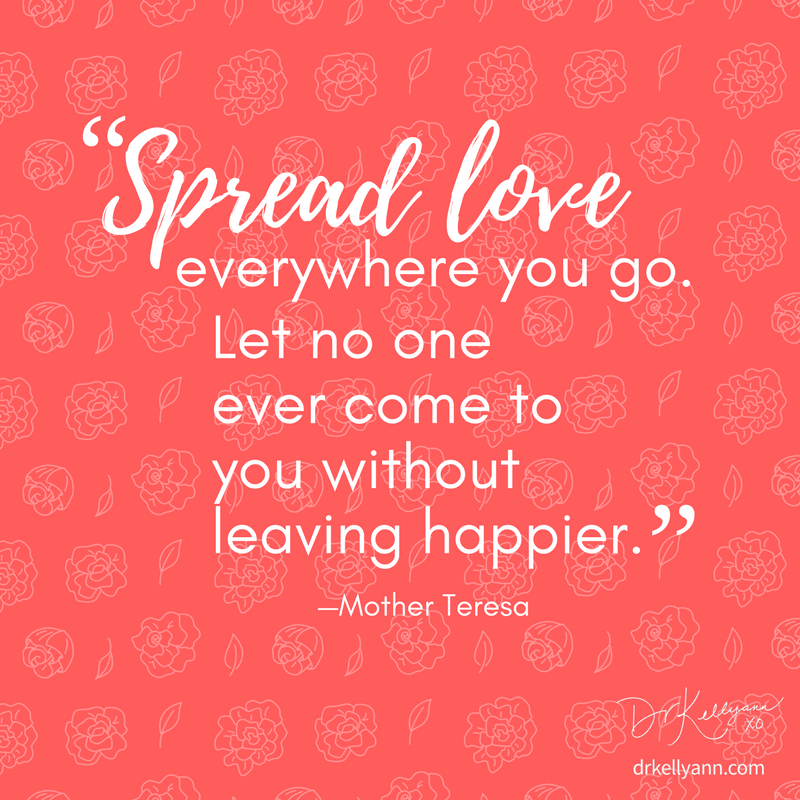 I love this quote from someone who lived this way every day of her life. This is my inspiration today!
