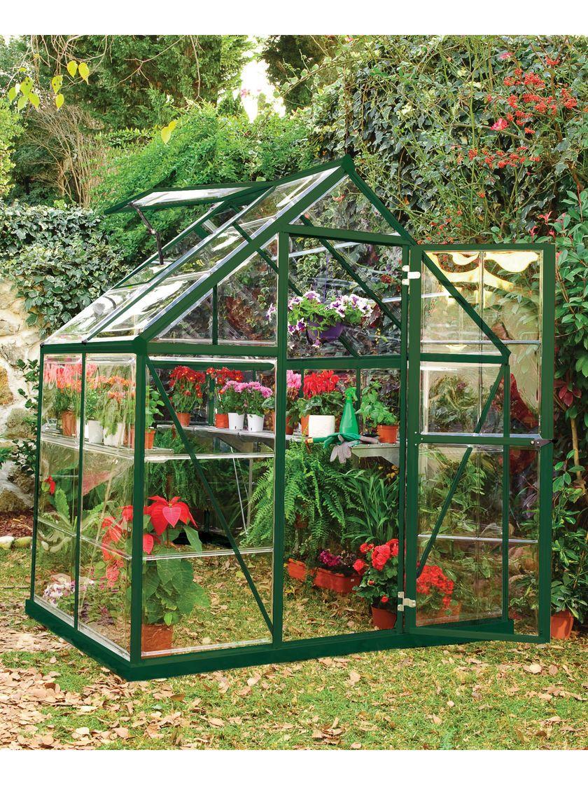 Small Greenhouse Kit Polycarbonate Greenhouse With Galvanized Steel Base Polycarbonate Greenhouse Greenhouse Gardening Small Greenhouse Kits Small backyard greenhouse kit